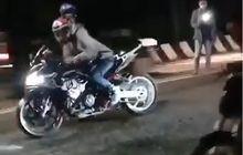 Video Balap Liar Honda CBR250RR Vs Suzuki Satria F-150, Endingnya Malah Bikin Malu