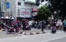 Viral Pemotor Dipukul Iring-iringan Jenazah di Menteng, Polisi Cari Korban