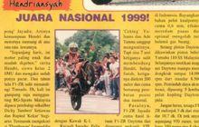 DeketBanget, Heboh Hendriansyah Juara Nasional, 22 Tahun MOTOR Plus Edisi Pertama 1999