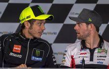 Rossi Pengin Ngomong Sama Crutchlow Di Sirkuit MotoGP Qatar, Ada Apa?