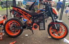 Wuih, KOSMIK Indonesia Turunkan Motor Listrik di Balapan Drag Bike