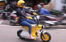 Bisa Digeber 100 km/jam, Kenalin EV Pocket Motor Listrik Karya Anak Bangsa