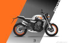 Wow, Motor Sport Retro Modern 350cc Bakal Meluncur, Usung Gaya Scrambler