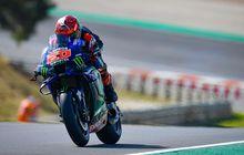 Hasil FP4 MotoGP Portugal 2021, Fabio Quartararo Masih Tercepat, Valentino Rossi Tercecer