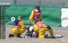 Bikin Ngilu, Video Kecelakaan Jorge Martin di FP3 MotoGP Portugal 2021