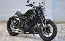 Modifikasi Kawasaki Ninja 250 Jadi Bobber, Awalnya Terbengkalai