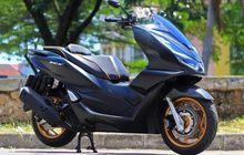 Honda PCX 160 Modifikasi Double Cakram, Lampu Proyektor Mirip Mobil