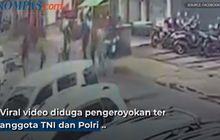 Viral Anggota TNI dan Polisi Dikeroyok Dekat Parkiran Motor di Kebayoran Baru