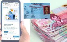 Pemerintah Kasih Bantuan Rp 3,55 Juta Plus Pinjaman Online Rp 10 Juta Cepat Daftarkan KTP dari HP