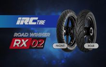 Wuih IRC Luncurkan Ban Terbaru RX02, Tinggi Performa Segini Harganya