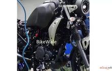 Bocor Penampakan Motor Retro Modern Yamaha Terbaru, Kembaran Yamaha XSR 155?
