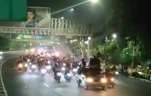 Video Gerombolan Pemotor Konvoi dan Bikin Ricuh di Bekasi, Polisi Langsung Gerak Cepat