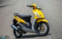 Modifikasi Yamaha Mio Lawas, Segar Kembali Bertabur Part Kece