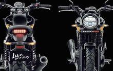 Rumor Calon Motor Retro Modern Honda Terbaru, Mesin 500 cc  2 Silinder