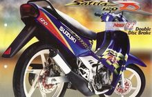 Mengingat Konsep Cat Ketupat Lebaran Suzuki, Dipakai Motor Legendaris