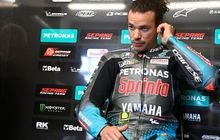 Tegang, Rossi, Morbidelli dan Pol Espargaro Memanas Pasca Senggolan di MotoGP Prancis 2021