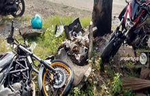 Video Yamaha V-Ixion Vs Honda CB150R Adu Banteng, Begini Kondisi Korban