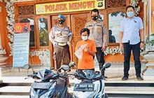 Bali Geger, Pria Curi Motor Honda Vario Untuk Membeli Hewan Kurban