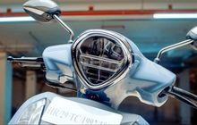 Meluncur Motor Matic Baru Yamaha, Mesin 125 cc Hybrid, Tampang Retro Mirip Vespa