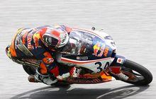 Pembalap Indonesia Mario Aji Gasak Poin Di Red Bull Rookies Cup Jerman