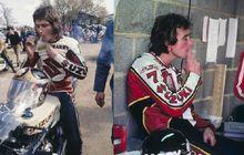 Gokil Satunya-satunya Pembalap MotoGP yang Merokok Sebelum Start Balap