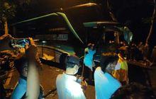 Lagi Salip Motor, Bus Ini Malah Tabrak Tiga Mobil dari Arah Berlawanan, 6 Orang Tewas