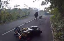 Tragis, Adu Banteng Suzuki Satria F-150 Vs Yamaha MIo, Satu Pengendara Terlindas Mobil Pick Up