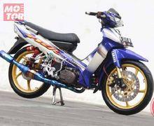 Gokil! Yamaha F1ZR Berbodi Caltex Ini di Bandrol Rp 25 Juta, Berniat Meminangnya?
