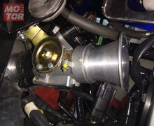 Pasang Throttle Body Aftermarket Yamaha MX King di Suzuki GSX-R150