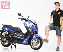 Begini Jadinya Kalau Fans Berat Rossi Modif Yamaha NMAX, Anti Nanggung!