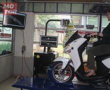 Sadis! Yamaha Lexi 125-nya Kurang Kencang, Wanita Ini Order Bore Up Hingaa 183 cc