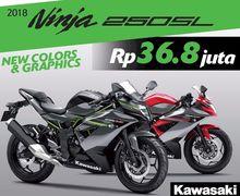 Ngebet Kepingin Kawasaki Ninja 250 RR Mono yang Lagi Turun Harga? Nih Skema Kreditnya