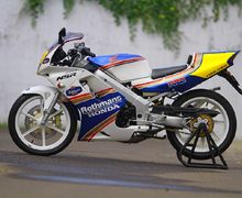 Nenek Moyang Honda NSR150 Rothmans, Ngeri untuk Pembalap MotoGP
