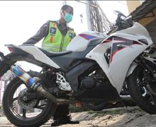 Polisi Bakal Sikat Habis Pemotor Pakai Knalpot Racing di Malam Tahun Baru