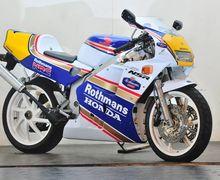 Kids Zaman Now Mana Paham, Kenalin Nih Motor Legendaris, Honda New NSR 250R Rothmans