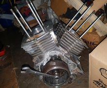 Mesin Honda Tiger Jadi Dua Silinder dan Suaranya Persis Moge