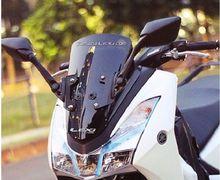 Cuma Ganti Ini, Spion Yamaha R25 Bisa Terpasang di Yamaha Lexi
