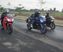 Komparasi Fitur Motor Yamaha R25 VS Ninja 250 dan CBR250RR, Mana Paling Canggih?