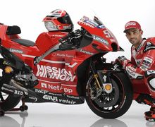 Wuih, Gak Cuma Livery Tim, Test Rider Ducati Ada Yang Baru Juga