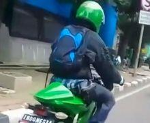 Video Kawasaki Ninja 150 RR Bikin Geger, Motor Melaju Kencang Tanpa Suara, Seperti Ada yang Aneh..