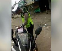 Video Oknum Polisi Bikin Geger Cikarang,  Gak Paham AHO Tilang Pemotor Karena Kehabisan Alasan