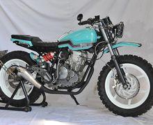 Kekar dan Gagahnya Yamaha Scorpio Asal Depok, Usung Konsep Tracker