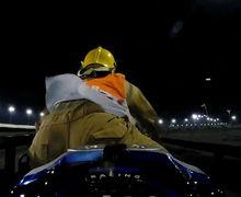 Serius Nih! Ada Marshal Bawa Motor Balap Sendirian Di MotoGP Qatar