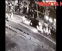 Ngeri! Video Detik-detik Terjadinya Kecelakaan yang Menewaskan Pemotor di Margonda