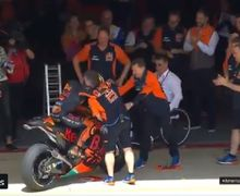 Pembalap Tim KTM Ngamuk, Pecundangi Maverick Vinales dan Andrea Dovizioso di Kualifikasi MotoGP Amerika