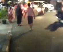 Manggarai Mencekam, Video Tawuran Warga Pecah di Tengah Jalan, Pemotor Kocar-kacir