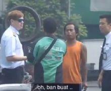 Video Driver Ojol Bingung, Ada Pilot Cari Ban Pesawat di Tukang Tambal Ban