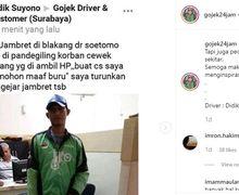 Viral! Aksi Heroik Driver Ojol, Berhasil Ringkus Dua Orang Jambret Ponsel