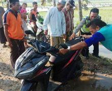 Terbongkar! Gara-gara Hal Mistis, Pemilik Motor Misterius di Demak Meninggalkan Motornya di Sawah