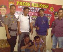 Spesialis Pencungkil Jok Motor Gak Berkutik Diringkus Polisi, Sasaran Nasabah Bank